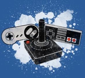 retro controllers