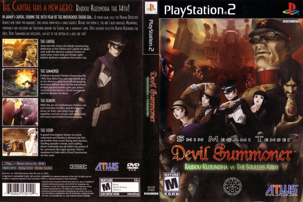 Shin Megami Tensei Devil Summoner Raidou blah blah