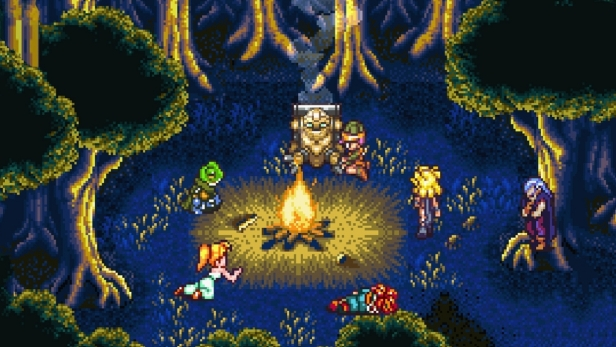 Chrono Trigger Camp Fire