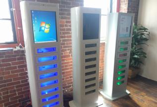 SLA Phone Charging station