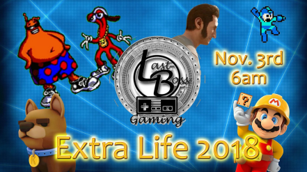 Extra life announcement 2018